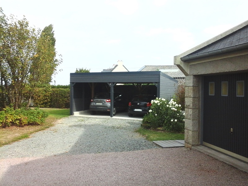 Réalisation d'un garage sur-mesure - Guillossou Doizon